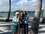 Photo of myself,my daughter, and my stepmother on our recent vacation to Florida